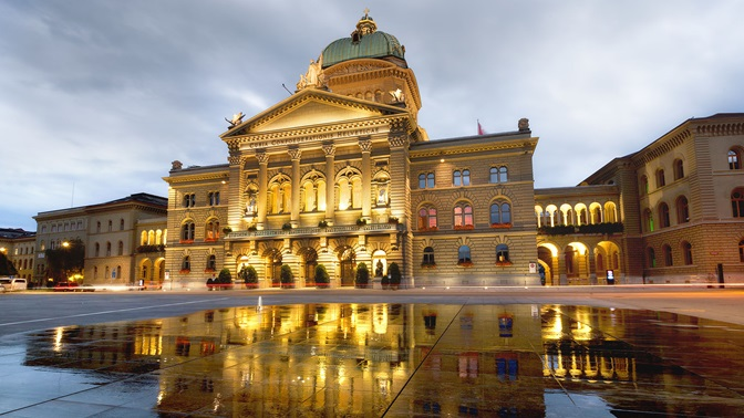Bundeshaus in Bern